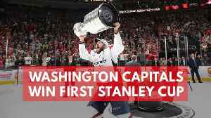 News video: Washington Capitals Claim First Stanley Cup Title In 44-Year Franchise History
