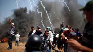 News video: Four Palestinians Die During Demonstrations In Gaza