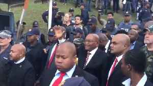 Supporters Greet Former President Zuma After Court Appearance on Corruption Charges [Video]