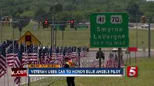 Seattle Man Drives To Smyrna To Honor Blue Angels Pilot [Video]