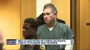 Man allegedly tased by former MSP trooper Mark Bessner says 'it's nothing new to him' [Video]
