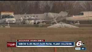News video: Lawsuit filed over fatal plane collision in Marion