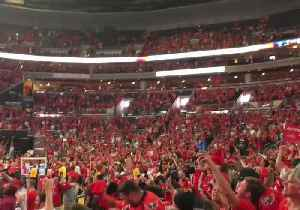 News video: Capital Fans Sing 'We Are the Champions' After Stanley Cup Victory