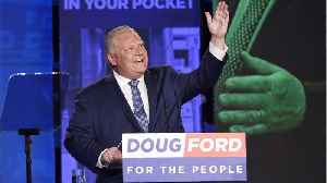 Populist Doug Ford To Win Canadian Election