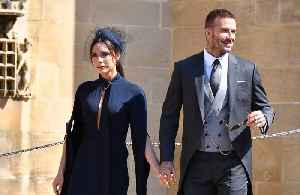 News video: David and Victoria Beckham selling royal wedding outfits
