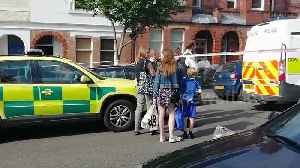News video: Police cordon off south London street after 'schoolboy stabbing'