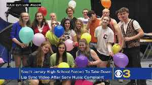 High School Students Forced To Take Down Lip Sync Video After Sony Music Complaint [Video]