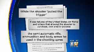 News video: Family That Lost 9 In Sutherland Springs Mass Shooting Suing Government