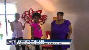 News video: Family in need gifted new home
