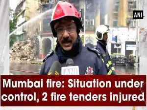 News video: Mumbai fire: Situation under control, 2 fire tenders injured