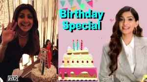 Sonam's Love Wishes OR Shilpa's 'Super se Upar' cake | Birthday Special [Video]