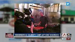 Kansas City native and food writer remembers time with Bourdain in KC [Video]