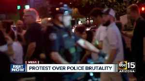 Protest held over Mesa police brutality investigations