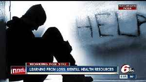News video: Local resources for people who are struggling with mental health issues