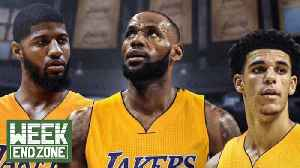 Lebron James & Paul George Discuss Joining Up With The Lakers! | WEZ [Video]