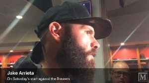Jake Arrieta takes responsibility for Saturday's loss to Brewers