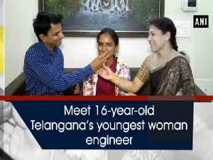 Meet 16-year-old Telangana's youngest woman engineer [Video]