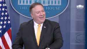 News video: Secretary of State Mike Pompeo Laughs Off Rudy Giuliani