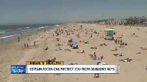News video: Certain foods can protect you from damaging sun