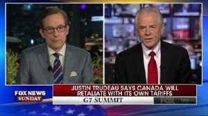 News video: Trump adviser: Place in hell for Trudeau