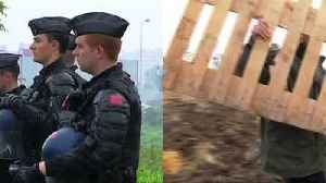 News video: French farmers blockade over Total palm oil imports