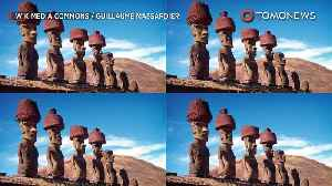 News video: How did Easter Islanders put 13-ton hats on moai statues?