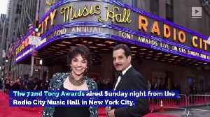 News video: See the Winners From the Tony Awards 2018