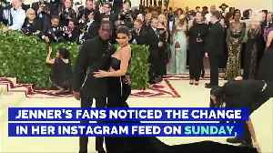 News video: Kylie Jenner Removes All Instagram Pictures of Daughter Stormi
