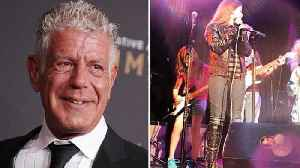 Anthony Bourdain's Daughter Performs at Concert Just Days After His Death [Video]