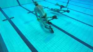 News video: Underwater hockey 'Octopush' thrives in Britain again