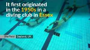 News video: Underwater hockey 'Octopush' thrives in Britain