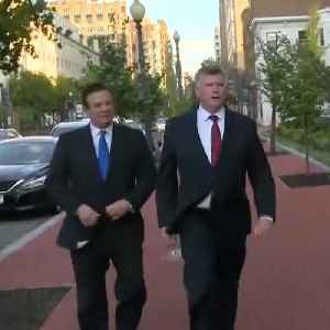 News video: Paul Manafort, Rick Gates Surrender to FBI and Charged