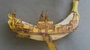 This Guy Is A Full-Time Banana Artist [Video]