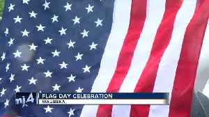 News video: Rain can't ruin Waubeka's Flag Day celebration