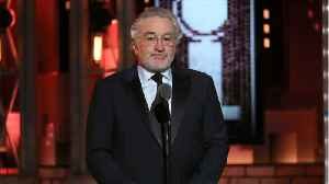 News video: Robert De Niro Tosses F-Bombs At Trump At Tony Awards