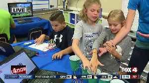 News video: Full S.T.E.A.M. Ahead Summer Camp underway