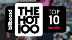 News video: Early Release! Billboard Hot 100 Top 10 June 16th 2018 Countdown | Official