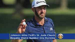 This Week In Golf: Dustin Johnson Runs Away With FedEx St. Jude Classic [Video]