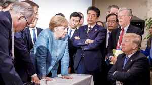 News video: The G-7 photo everyone is talking about