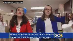 Cinnaminson High School Students' YouTube Lip Sync Video Back Up After Sony Rescinds Takedown Notice [Video]
