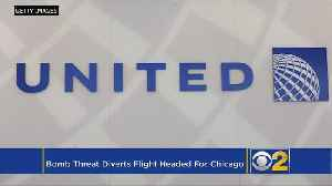News video: Bomb Threat Diverts Chicago-Bound Plane To Ireland