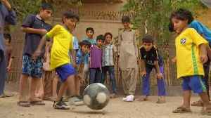 News video: World Cup fever grips one of Pakistan's poorest areas