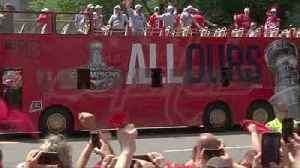 Ovechkin, Capitals and fans celebrate Stanley Cup victory with parade
