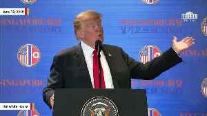 News video: Trump Says He Talked To Kim Jong Un About Having 'Best Hotels' On North Korea's 'Great Beaches'