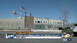 News video: Former detainees suing Otay Mesa detention center