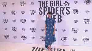 """Stars of """"The Girl In The Spider's Web"""" attend Barcelona photocall"""