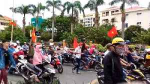 News video: Vietnamese Stage Anti-China Protests in Several Cities