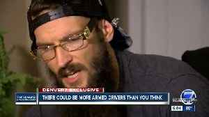 Man claims he was threatened by another Denver Uber driver with gun