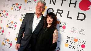 """News video: Rose McGowan Says Bourdain And Argento """"Had A Free Relationship"""""""