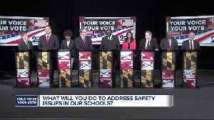 WMAR Debate: What will you do to address safety issues in our schools? [Video]